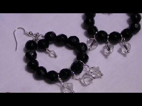 Tutorial: Orecchini con perle e pendenti
