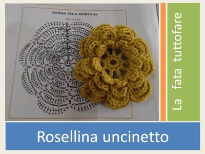 Tutorial: rosellina uncinetto