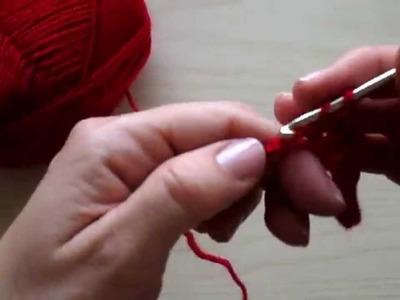 Uncinetto Lezione 2 Maglia Alta - Crochet Lesson 2 Double Crochet (dc)