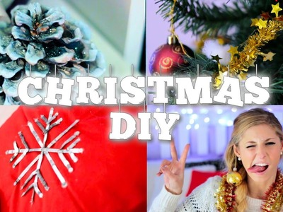 4 DIY Christmas & Room Inspiration