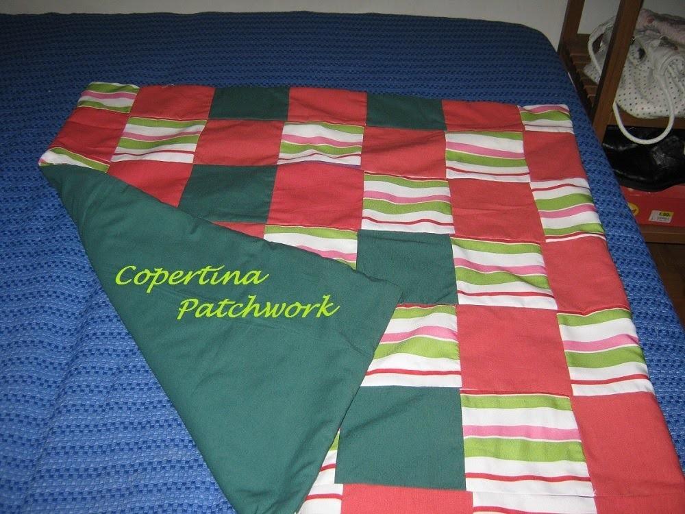 Copertina patchwork semplice