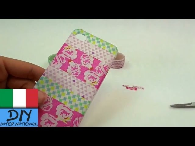 Cover DIY Smartphone conchiglia Smartphone Caso | iPhone | italiano