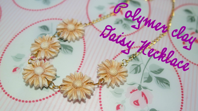 DIY Gold Daisy Necklace | Collana con Margherite Dorate ❀