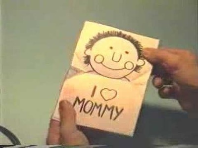 How to make: I love mommy's pop-up card