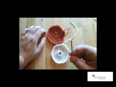 Lavori all'uncinetto : un tutorial su come realizzare una piastrella