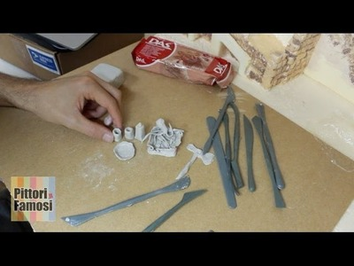 Modellare DAS per creare oggetti del presepe - Parte8