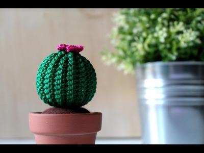 Tutorial: Cactus rotondo amigurumi