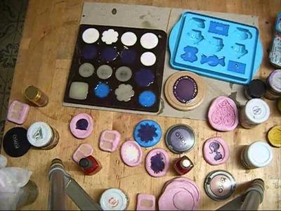 Tutorial resina E 30 effetto acqua:uso dei coloranti pentasol e altri