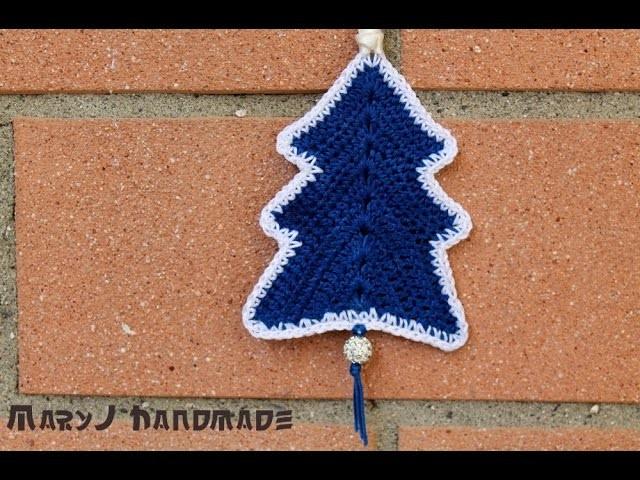 Albero di Natale all'uncinetto | Crocheted Christmas tree