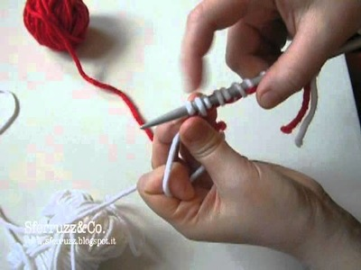 Avvio maglia tubolare.metodo alternativo (a quello classico)