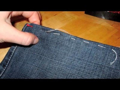 Come fare l'orlo ad un paio di Jeans
