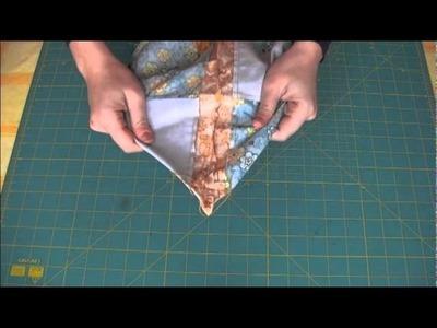 Come fare una borsa 04: il fondo rettangolare