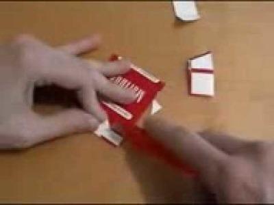 Come fare una maglia con scatola di sigarette