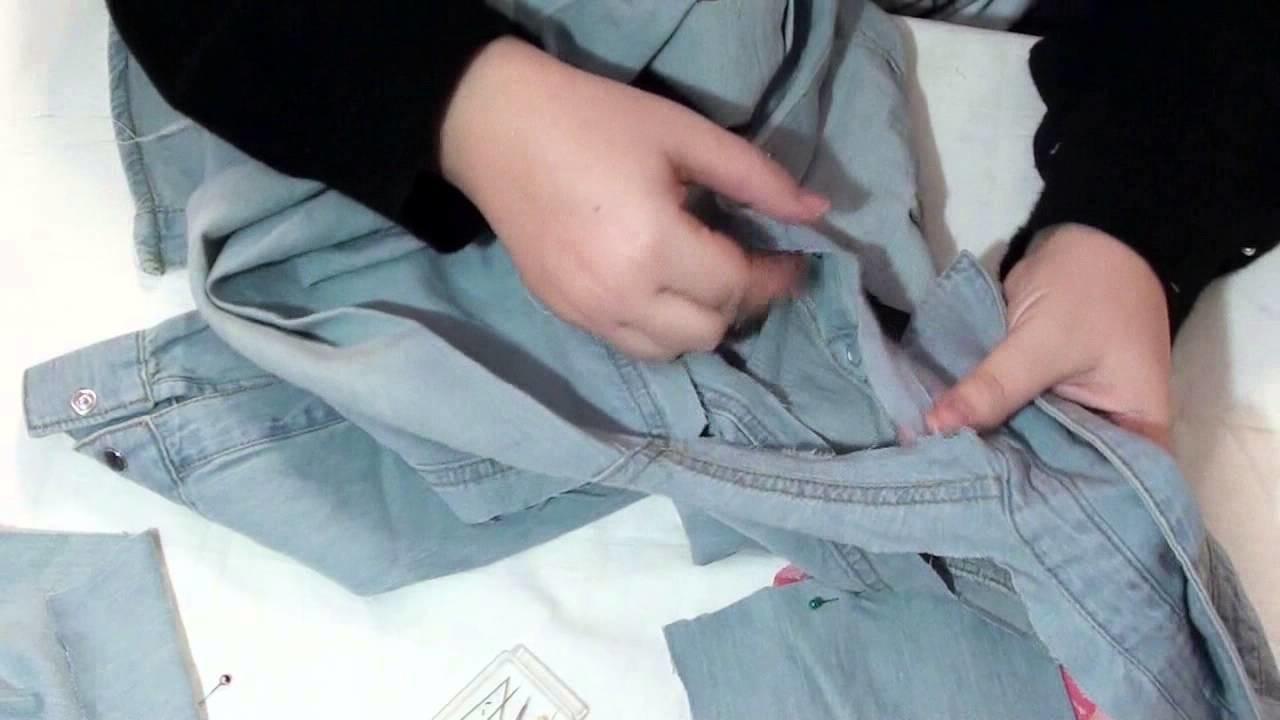 DIY - personalizzare una camicia con inserti in pizzo