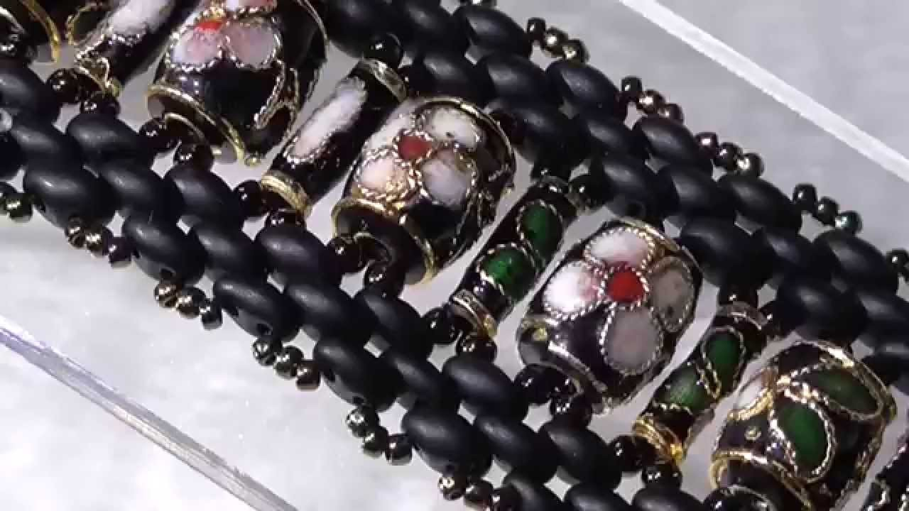 Le perline in pillole - Bracciali Chokhor II - Settembre 2014