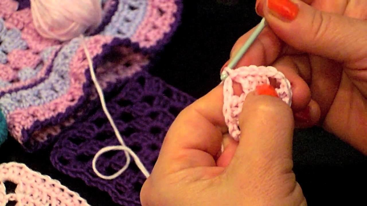 Lezioni Singole - quadrato traforato e punto canestro all'uncinetto - crochet