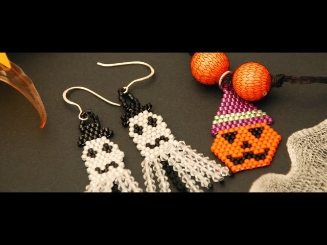 Orecchini per Halloween   Tecniche - HobbyPerline.com