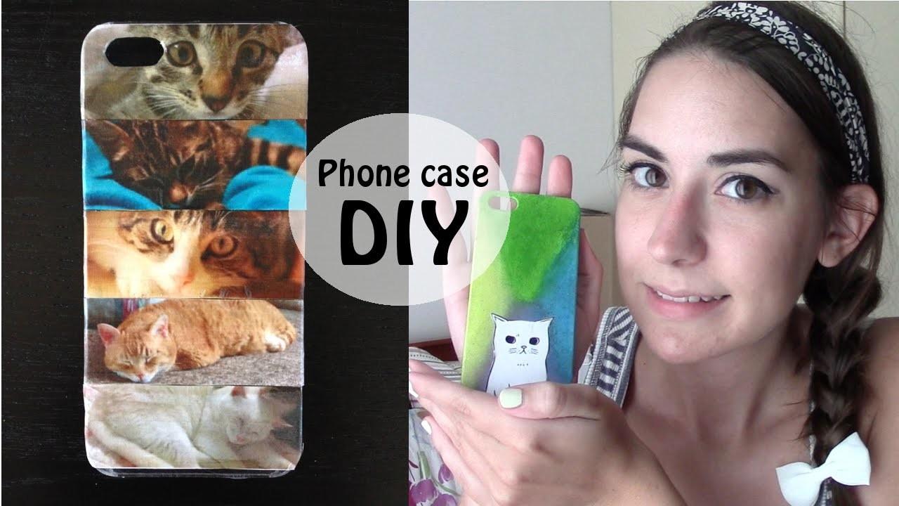 Phone case DIY - Come personalizzare una cover