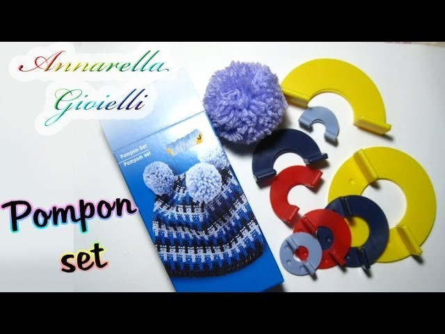 Review pompon set | Come realizzare i pon pon