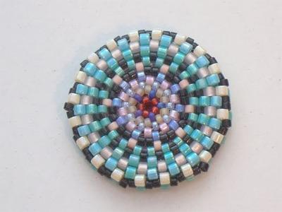 Sarubbest - Tutorial perline (Peyote): Come fare un disco con perline 2.2 (Tecnica Peyote)