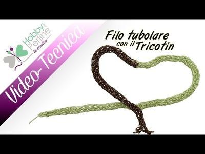 Tubolare con il Tricotin | WIKI - HobbyPerline.com