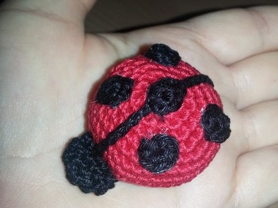 TUTORIAL AMIGURUMI: COCCINELLA seconda parte