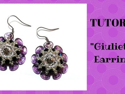 """Tutorial:come realizzare un paio di orecchini """"Giulietta"""" con i petali di rosa"""