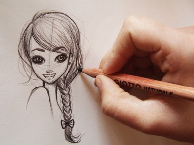 ❤Come disegnare i capelli.how to Draw MANGA HAIR -3 hairstyles(step by step)❤