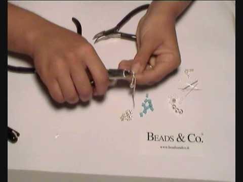 Creare orecchini cubetti di turchese - lezione 12