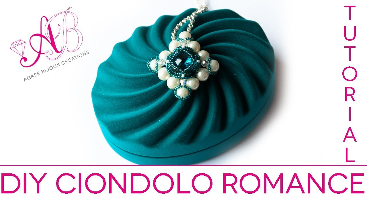 DIY Tutorial   Romance Pendant (Ciondolo Romance) San Valentino