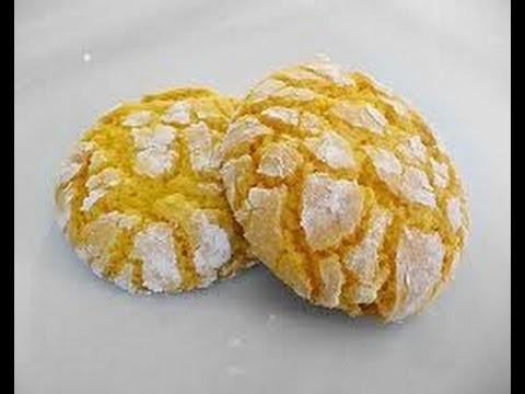 Dolcetti al limone,Lemon Cookies