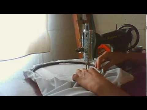 Ricamo artigianale bordado artesanal lavoro macchina singer