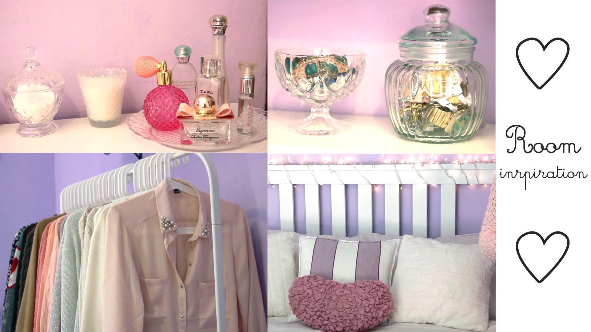 Room Inspiring - Easy ways to decorate your room ♥
