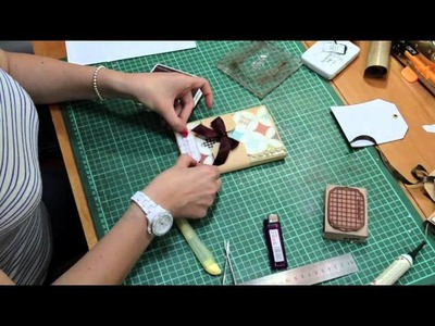 Scrap Made in Italy n.5: Mini album con Sadia (tutorial)