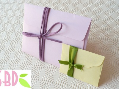 Tutorial: Buste per le nostre Card! - Envelopes for our Cards!