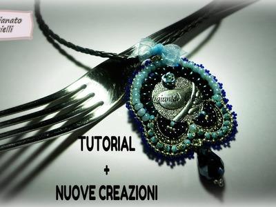Tutorial come fare un fiocco + nuovi bijoux con perline