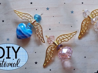 Tutorial: Come Realizzare un Angioletto con Perle Swarovski o Cristalli - ♥ - DIY: Crystal Angel