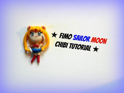 Tutorial fimo Sailor Moon chibi - Polymerclay tutorial chibi sailor moon