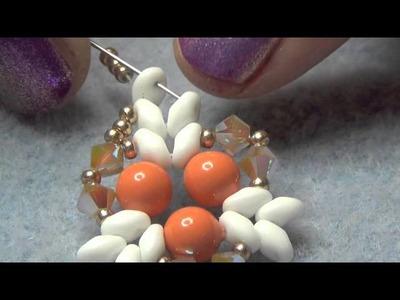 Tutorial orecchini Lacrima di Corallo - Collaborazione 75Marghe75