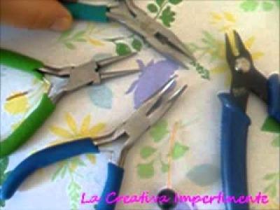 Tutorial per principianti - tecnica del cappio avvolto o nodo ad orefice