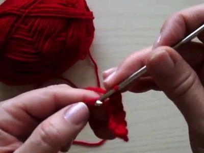 Uncinetto Lezione 3 Maglia Bassa - Crochet Lesson 3 Single Crochet (sc)