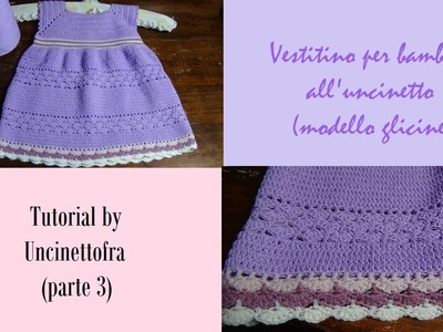 Vestitino bambina all'uncinetto tutorial (parte 3)