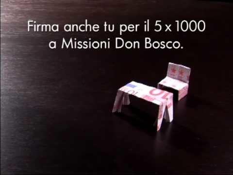 AIUTACI AD AIUTARE: FIRMA PER IL 5X1000 con il Banco Origami