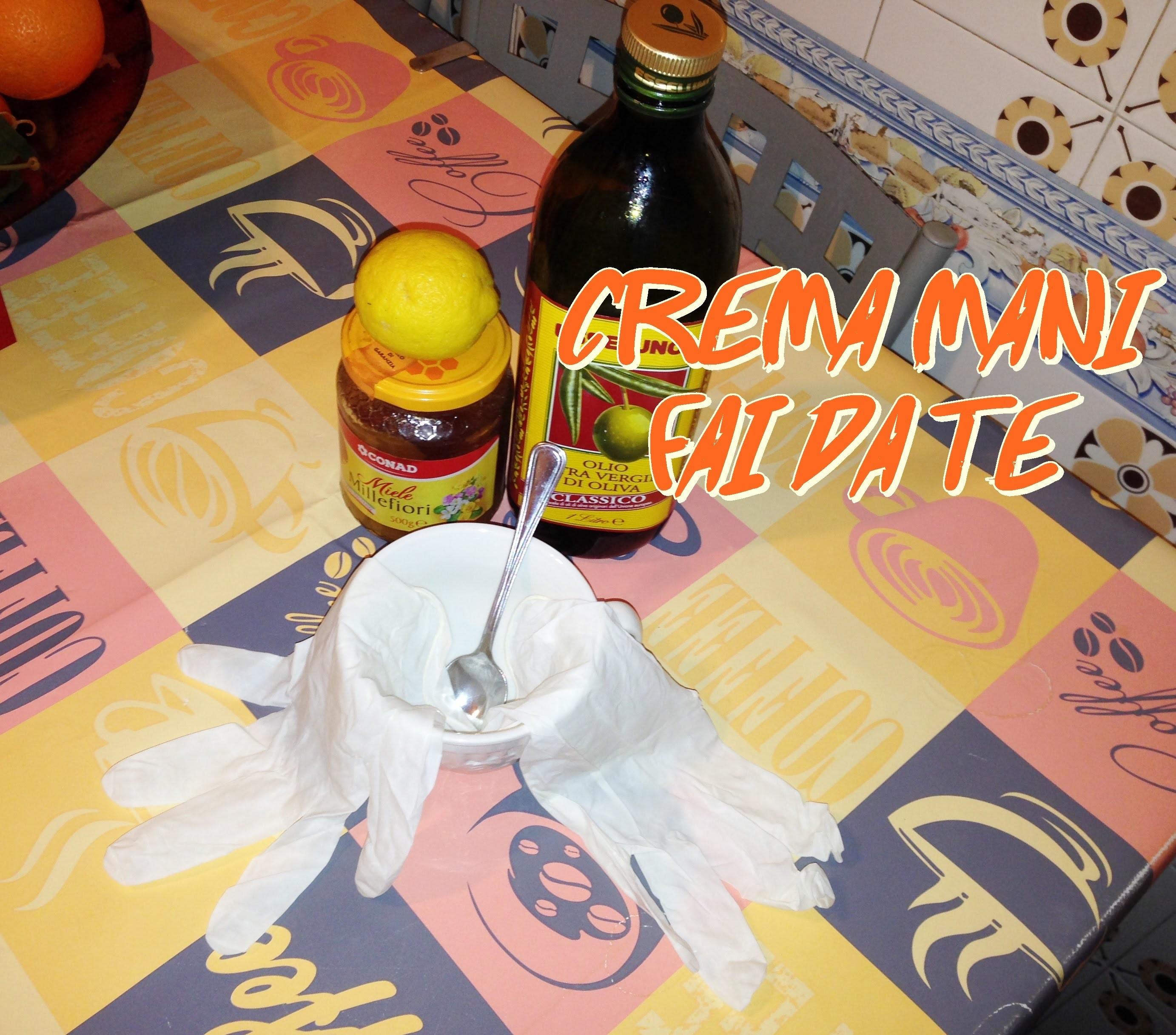 CREMA mani FAI DA TE TUTORIAL: Hand Cream DIY
