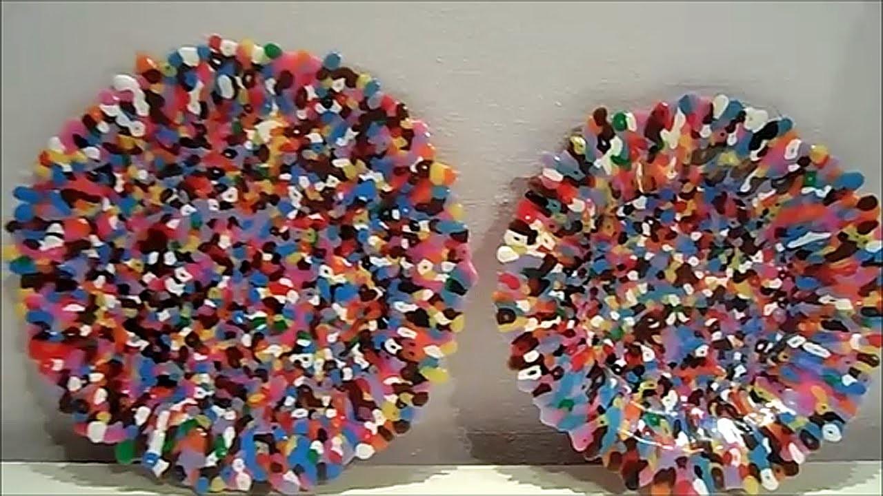 Porta Frutta. Dolci Con PYSSLA(Hama Beads) Tutorial!★
