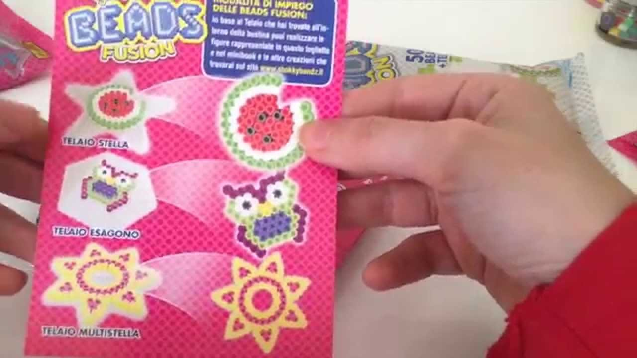 ∆ Recensione. Shokky Bandz Beads Fusion - Hama Beads e SCOOP PAZZESCO!!!!