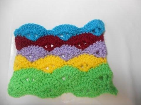 Uncinetto Crochet Tutorial Ponto Per Copertina