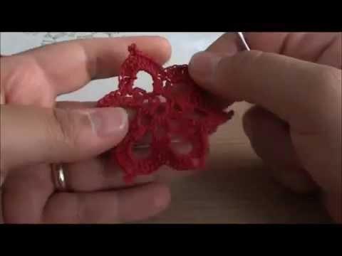 2 - Video tutorial - orecchini fiore 1