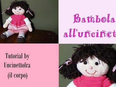 Bambola all'uncinetto tutorial (il corpo)