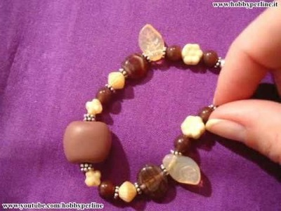 Braccialetto Con Perle Di Vetro | Perline per Principianti - HobbyPerline.it